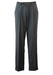 """Mid Grey Pure New Wool Tailored Trousers with Turn Ups - 34"""""""
