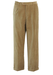 Camel Coloured Jumbo Cord Trousers with Pleat Front & Turn Ups - 33""