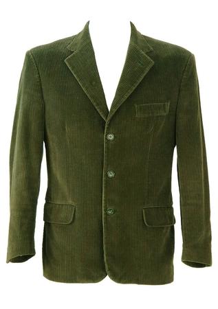 Fern Green Corduroy Blazer - M/L