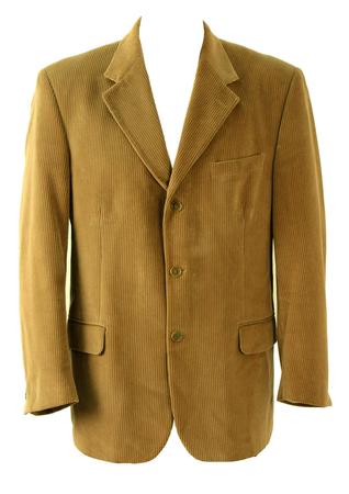 Camel Corduroy Jacket - L/XL