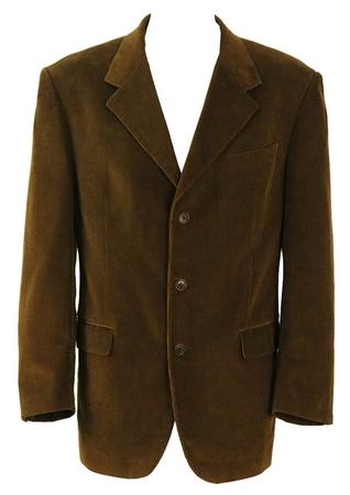 Brown Corduroy Jacket - L/XL