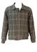 Reversible Brown & Cream Tweed / Khaki Green Bomber Jacket - L/XL