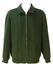 Woodland Green Wool Zip Front Bomber Jacket - L/XL