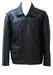 Dark Brown Leather Flight Jacket with Double Pocket Feature & Side Buckles - M/L