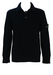 Stone Island Black Wool Jumper with Collar - M
