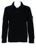 Stone Island Black Wool Jumper with Collar - M