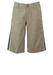 "Tommy Hilfiger Beige Knee Length Shorts with Blue & Cream Side Stripes - 34"""