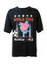 USA Soccer World Cup '94 Black T-shirt with Red, White & Blue Print - XL/XXL