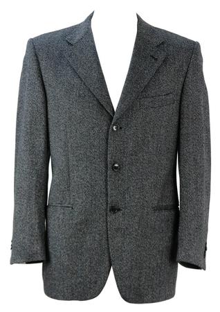 Loro Piana Wool & Cashmere Herringbone Jacket - L/XL