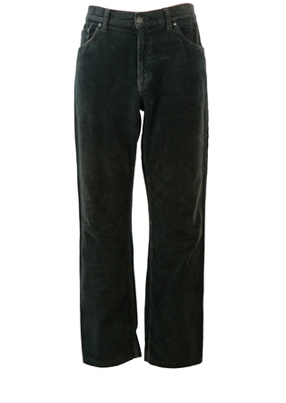 Mid Grey Carrera Corduroy Trousers - W35""