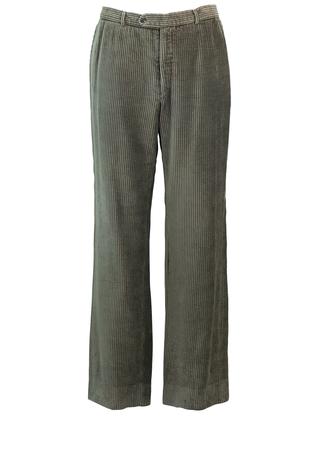 """Fila Grey Jumbo Cord Trousers - W36"""""""