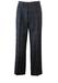 "Grey Pure Virgin Wool Trousers with Orange, Purple, Green & Blue Fleck Check Pattern - W36"""