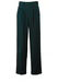 """100% Pure Wool Teal Blue Pleat Front Trousers - W32"""""""