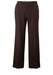 """Brown Flat Front Tailored Wool Trousers - W31"""""""