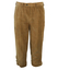 3/4 Length Corduroy Camel Coloured Hiking Trousers - W35""
