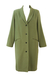 Vintage 90's Pistachio Green Oversized Wool Coat - M/L
