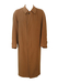 Lubiam Single Breasted, Pure Virgin Wool Camel Coat - L/XL