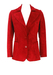 Vintage 70's Red Suede Fitted Jacket - XS/S