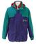 Kappa Purple & Teal 2 in 1 Jacket with Orange Fleece Inner Jacket - L/XL