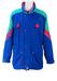 Sergio Tacchini & Marc Girardelli Jacket with Block Blue, Green & Red Pattern - L