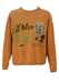 Vintage 80's Avirex Peach Sweatshirt with Aviator Theme - L/XL
