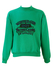 Green Sweatshirt with Purple 'Boy Active Casual' Wording - L