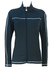 Emporio Armani EA7 Charcoal Grey Fitted Track Jacket with White Trim - M