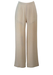 Max Mara Wide Leg Cream Trousers in Superfine Wool - S