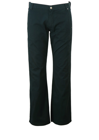 """Versace Collection Navy Blue Chinos - W33"""""""