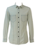 Dolce & Gabbana Light Grey Fitted Denim 'Brad' Shirt with Adjustable Sleeve Length - S/M