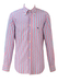 Etro Blue, Pink and White Striped Shirt with Button Down Collar - M/L