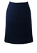 Vintage 1960's Blue Crochet Knee Length Pencil Skirt - M