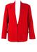Oaks by Ferre Rich Red Wool Jacket - L
