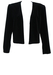 Luisa Spagnoli Black Velvet Bolero Evening Jacket - M/L