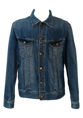 Lee Blue Denim Jacket - XL