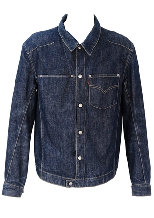 Levis Engineered Blue Denim Jacket - L