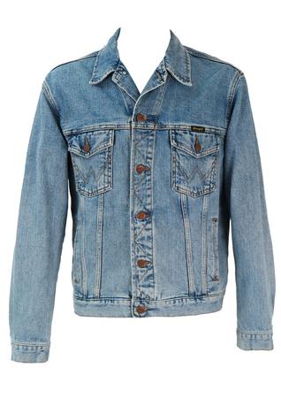 Wrangler Blue Denim Jacket - L/XL