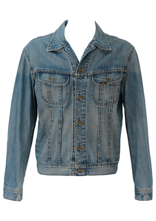 Lee Blue Denim Jacket - L/XL