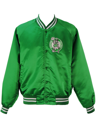 Boston Celtics Emerald Green Basketball Jacket - XXL/XXXL