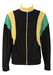 Navy, Yellow and Turquoise Track Jacket - M/L