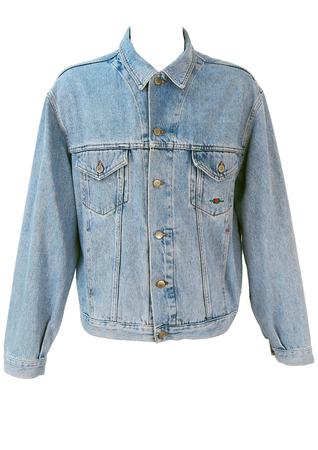 Light Blue Denim Jacket - XL/XXL