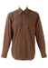 Levis Brown and Black Striped Shirt - L