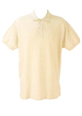 Ralph Lauren 'Polo' - Cream Polo Shirt - XL/XXL