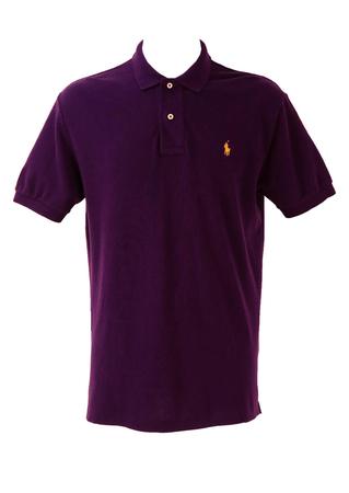 Polo by Ralph Lauren Purple Polo Shirt - M/L