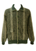 Woollen Green & Grey Check Bomber Jacket - XL/XXL