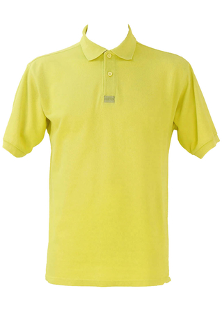 Levis Yellow Polo Shirt - M/L