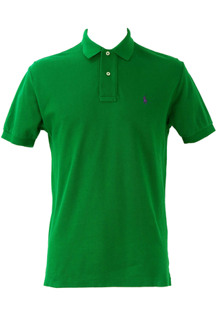 Polo by Ralph Lauren Green Polo Shirt - M