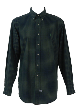 Polo by Ralph Lauren Blue Checked Shirt - XXL/XXXL