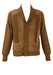 Vintage 1960's Suede and Knit Cardigan - M/L