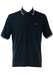 Champion Navy Blue Polo Shirt with White Trim Detail - L